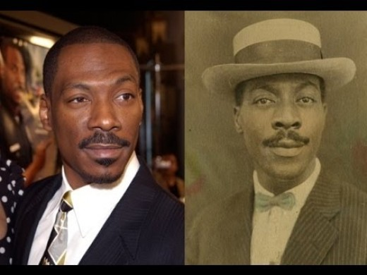Eddie Murphy and his twin