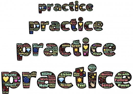 Practice a lot and you will succeed.
