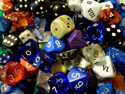 RPGs are about more than just rolling strangely shaped dice