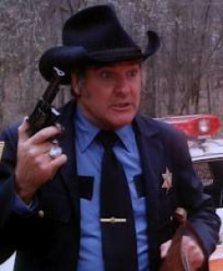 "James Best as ""Rosco P. Coltrane"""