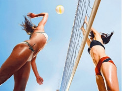 How to: build a cheap, portable beach volleyball court with inexpensive materials. 3 Easy Steps.