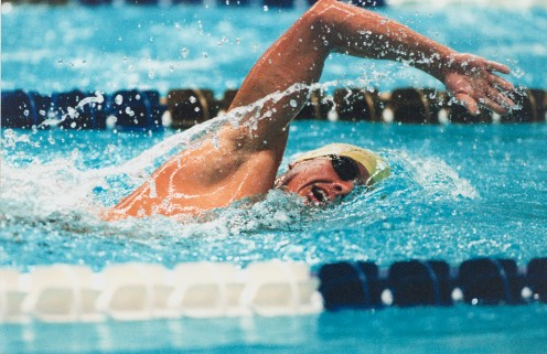 Build up your strength, flexibility and endurance through rigorous swimming