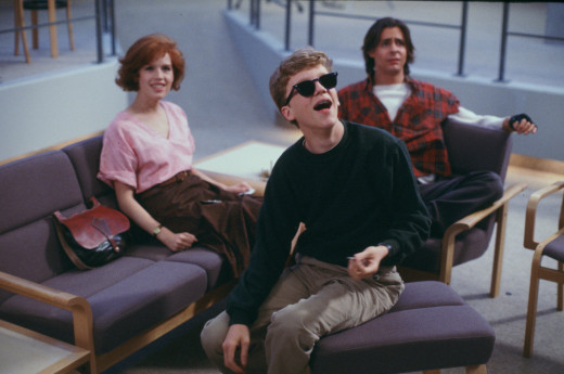 "The cast of ""The Breakfast Club"" includes (from left) Molly Ringwald, Anthony Michael Hall and Judd Nelson. The 1985 film about different teen personalities brought together in a unique situation hits theaters again on March 26 and 31."