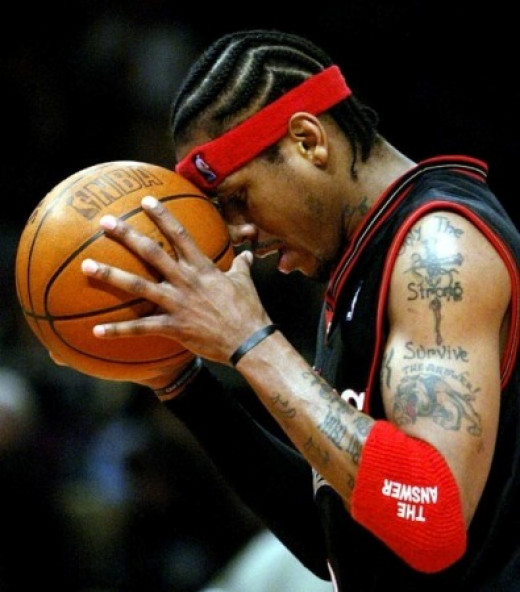 Allen Iverson, the precursor to Russell Westbrook