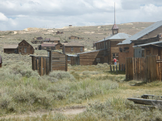 Bodie State Historic Park.