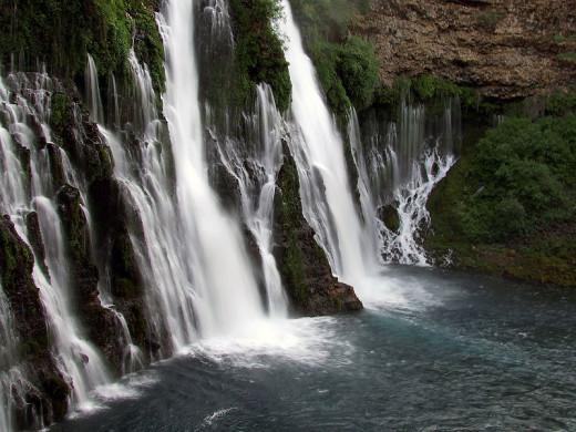 Burney Falls, McArthur-Burney Falls Memorial State Park.