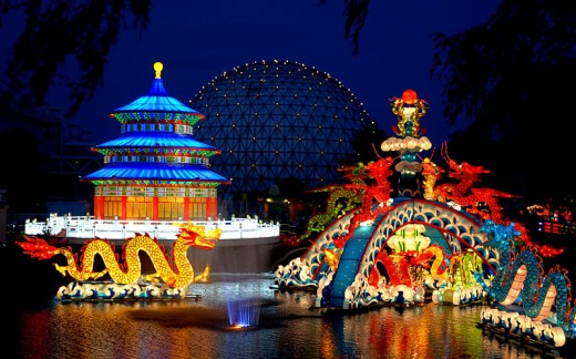 Chinese Lantern Festival at Ontario Place