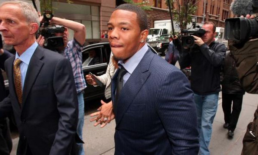 Ray Rice gave the NFL a black eye after the handling of his suspension last fall