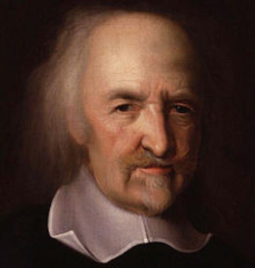 portrait of Thomas Hobbes