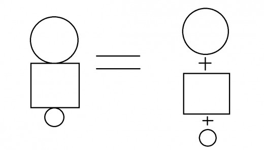 This is an example of dividing a task into smaller problems