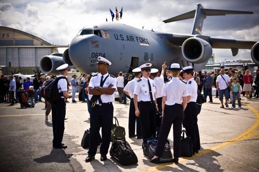 Boeing C-17 Globemaster USAF at Paris international air show '12