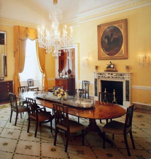 Family dinner at the Whitehouse