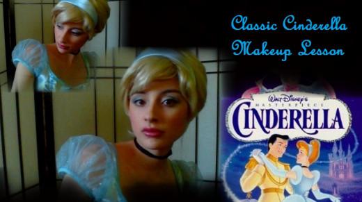 Classic Cinderella Makeup Lesson