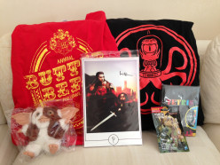 Geeky Winter Goodies - Nerdblock Reviews for December 2014 to February 2015