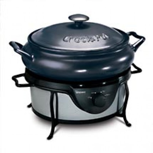 Stoneware Crock Pot