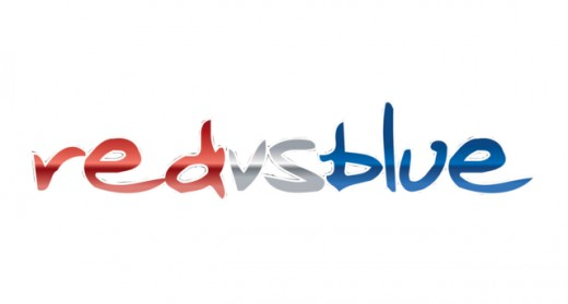 The logo for Red vs. Blue.