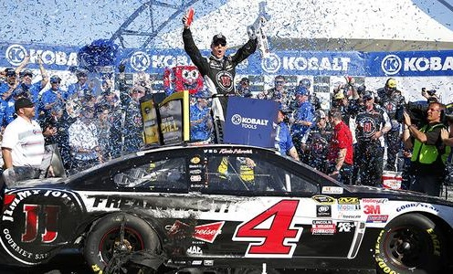 Kevin Harvick won yet another race for SHR in Las Vegas