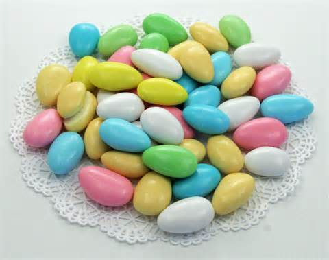 Candy Coated Jordan Almonds