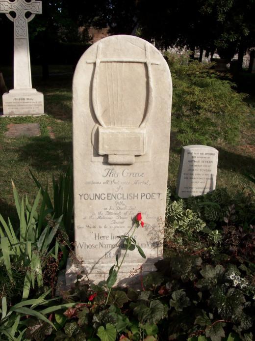 Grave of John Keats