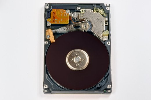 The Inside of a Hard Disk Drive