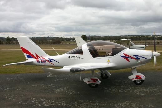 TL-2000 Sting S4 is light sport aircraft (LSA) built in  Czech Republic