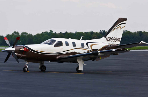 Socata TBM 850 is a high performance single-engine turboprop light business and utility aircraft manufactured by DAHER-SOCATA, France