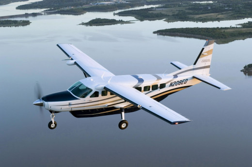 Cessna 208 Caravan is a single-engined turboprop, fixed-tricycle landing gear, short-haul regional airliner and utility aircraft that is built in the United States by Cessna of Wichita, Kansas
