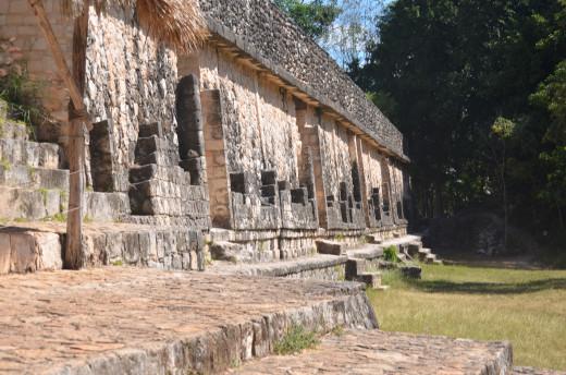 Structure at Ek Balam