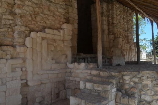 Interior room at Ek Balam