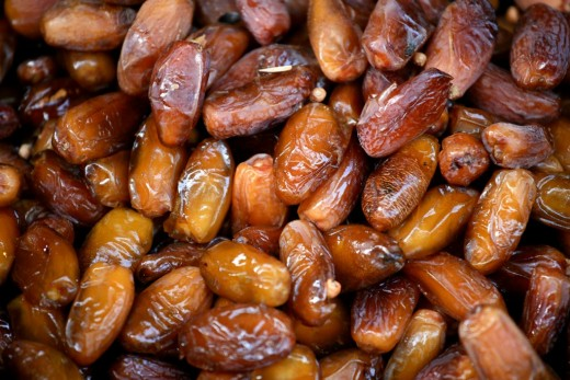 Dates are a versatile high energy food that are a good source of fiber, vitamins and minerals. See the nutrient dats here.