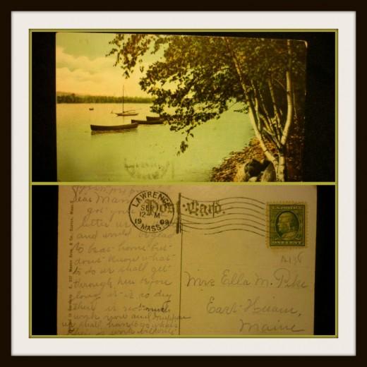 Mrs. Ella M. Pike East-Hiram, Maine 1909