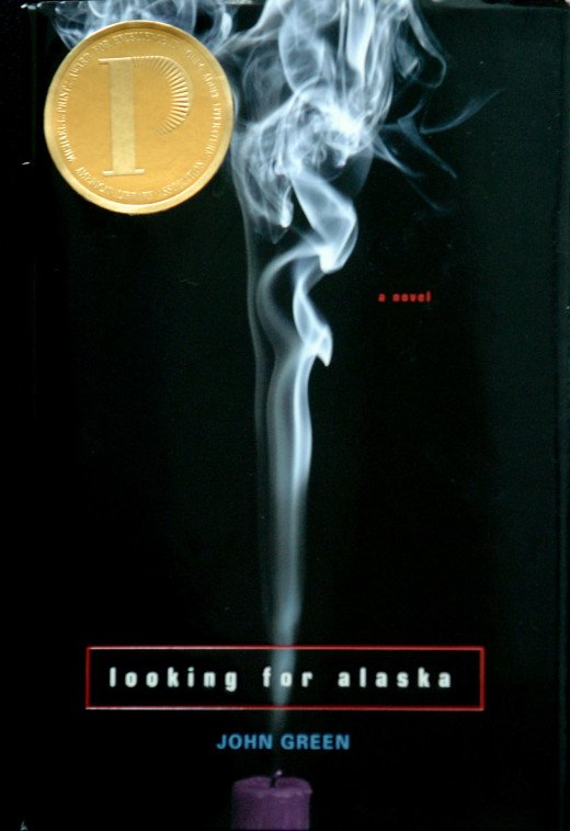 The substances and sexual content aside, Looking for Alaska's cover has been altered several times. For this cover, a candle has been added to the smoke which, otherwise, appears to be from a cigarette.