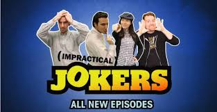 This is the former Impractical Jokers logo. Can you spot the difference?