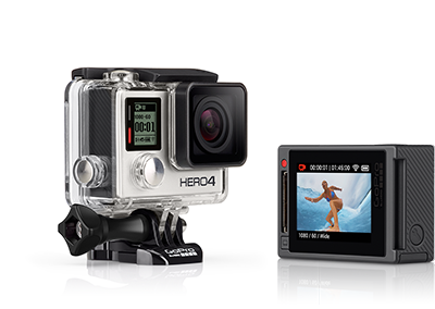 An included touch LCD in the Hero 4 is a welcome bonus