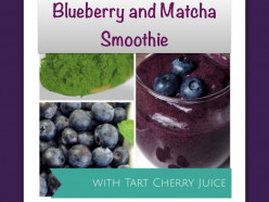 Blueberry and Matcha Smoothie Recipe