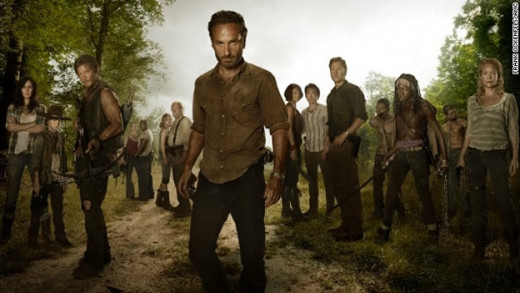 Cast of the Television Series The Walking Dead