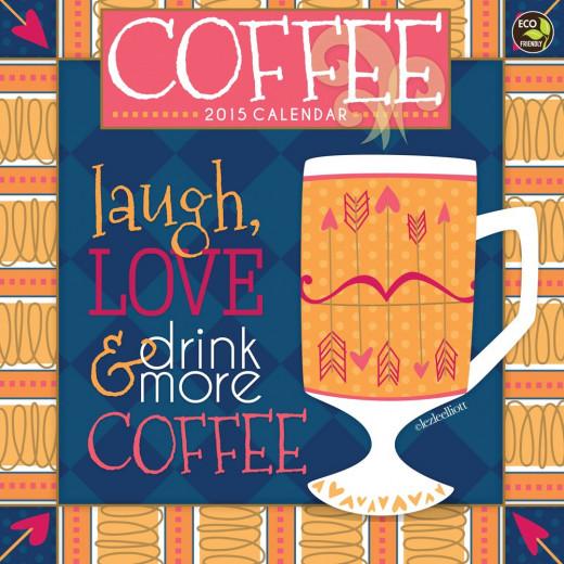 lezleelliott 2015 Coffee Calendar