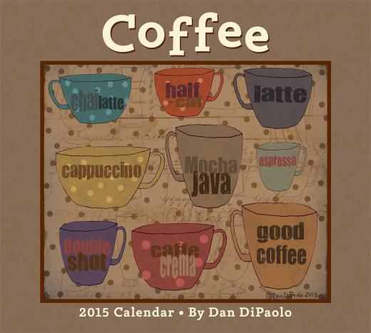 Dan DiPaolo Coffee Calendar