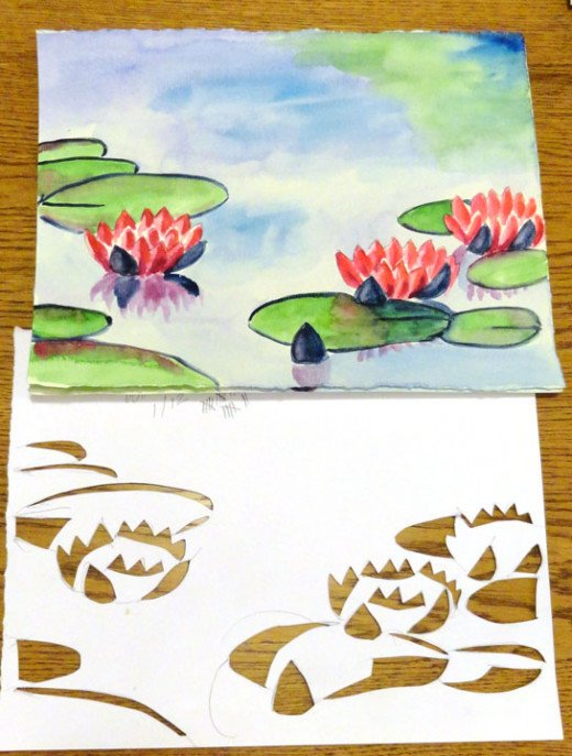 Water Lilies.