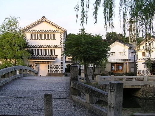 Bikan District warehouses, Kurashiki, Japan.