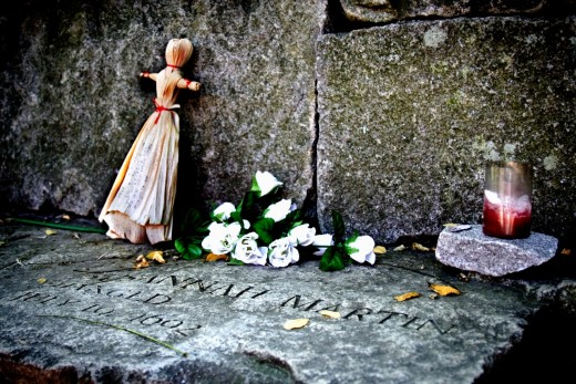 The Suzannah Martin memorial...a victim of the Salem Witch Trials.