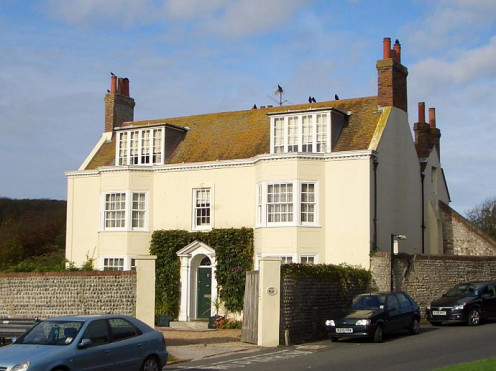 The Elms, Rottingdean; Kipling's house for a few years.