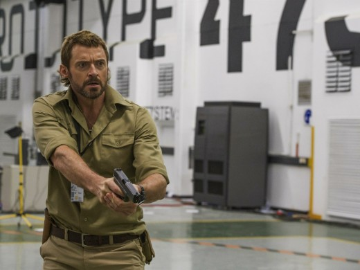 The one legit bright spot - the always dependable Hugh Jackman as weapons expert Vincent Moore