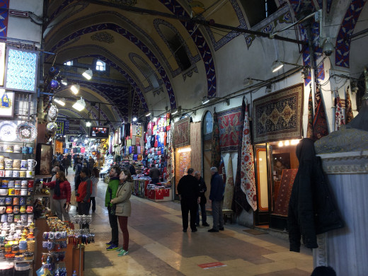 Istanbul's grand Bazaar, a place to polish your haggling skills for a good bargain