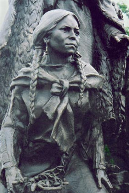 Most claims has Sacagawea dying only year after her famous journey with Lewis & Clark however several eye-witnesses identified her living with the Commanches in the mid 1800s and later in a white settlement in Montana in the late 1800s.