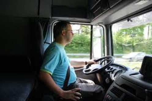 A trucker's life is great if he is single and loves traveling all of his time.