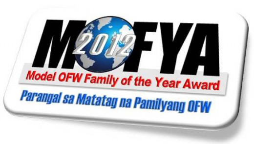koreanewsonline.blogspot.com  New Overseas Filipino Workers (Philippine Economy Army) Models 2012 MOFYA Awardees