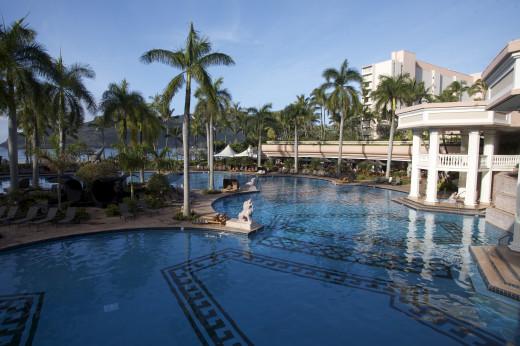 Pool at the Marriott Kaui Lihue Resort