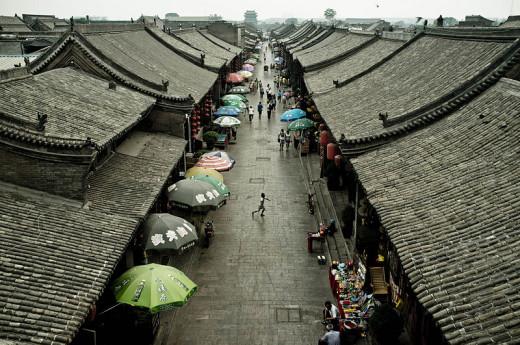 Pingyao market street