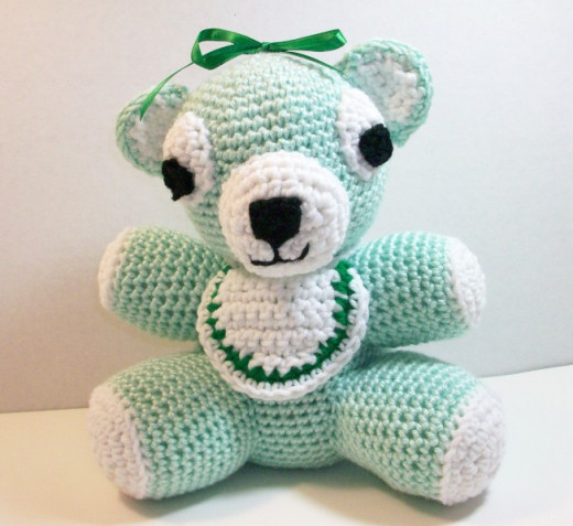 Baby Bear in Crochet